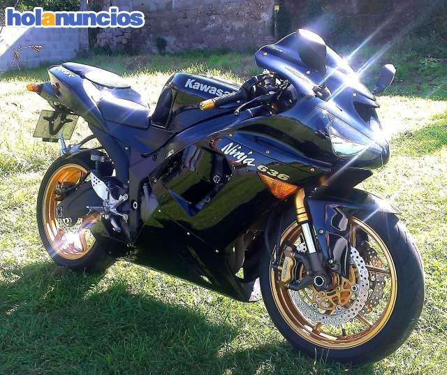 Kawasaki Ninja Zx6r 636 25kw Carnet A2 Motos De Carretera