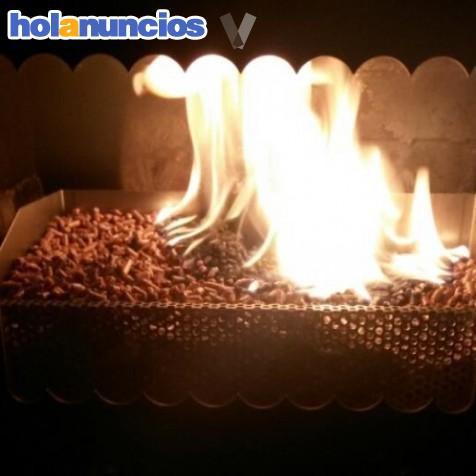 Estufas de le a y pellets economicas nueva roos for Estufas de lena nuevas